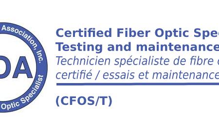 (CFOS/T) Technicien de fibre optique spécialiste en essais et maintenance de réseaux optiques – Apprentissage mixte (blended e-learning)