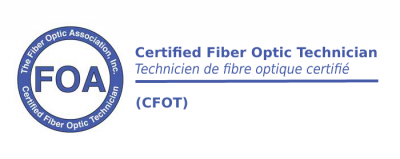 (CFOT certifications de base ) Technicien de Fibre Optique Certifié – Apprentissage mixte (blended e-learning)