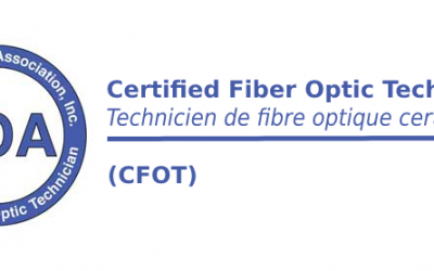 (CFOT certifications de base ) Technicien de Fibre Optique Certifié – Apprentissage mixte (blended e-learning) – Abidjan