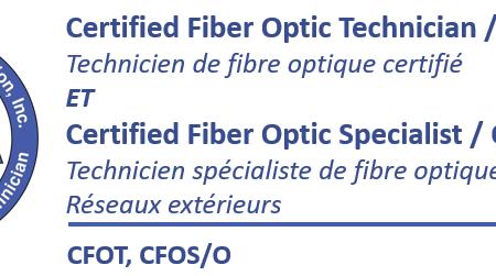 (CFOT et CFOS/O Combinée) Technicien de fibre optique certifié et certifié spécialiste réseaux extérieurs – Apprentissage mixte (blended e-learning) – Abidjan
