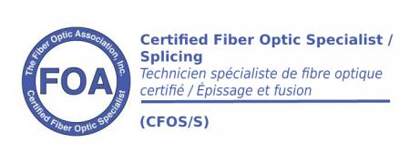(CFOS/S) Technicien de fibre optique spécialiste en épissage et fusion – en classe