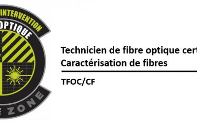 (TFOC) Essais d'insertion, de réflectométrie et caractérisation de fibres optiques