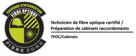 (TFOC) Préparation et installation de boîtiers de terminaison de fibres optiques (muraux et râteliers)