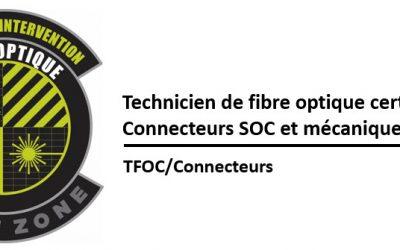 (TFOC) Introduction à la fibre optique, à la connectorisation et aux essais (1 connecteur mécanique)