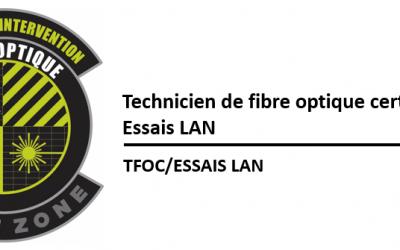 (TFOC) Essais d'insertion et de caractérisation de réseaux LAN