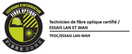 (TFOC) Essais d'insertion et  de réflectométrie (WAN)
