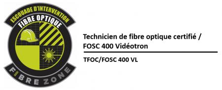 (TFOC) Préparation et installation de boîtiers extérieurs FOSC 400 D5 – Vidéotron