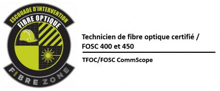 (TFOC) Préparation et installation de boîtiers extérieurs de fibres optiques FOSC – série 400 et 450