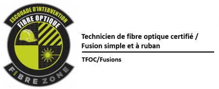 (TFOC) Épissures mécaniques et fusions de fibres optiques