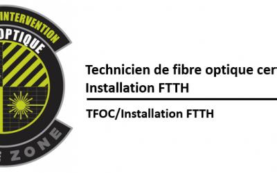 (TFOC) Installation résidentielle  FTTH