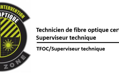 (TFOC) La fibre optique pour gestionnaire et superviseurs techniques (Bientôt disponible)